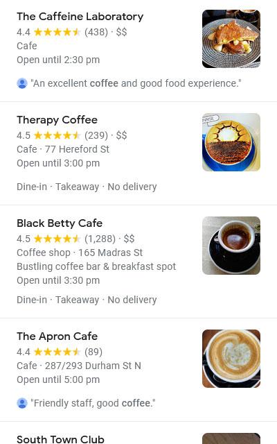 Reviews for Google Businesses